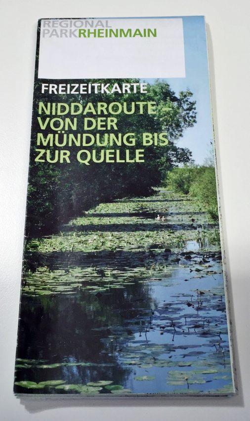 Regionalpark Freizeitkarte Niddaroute