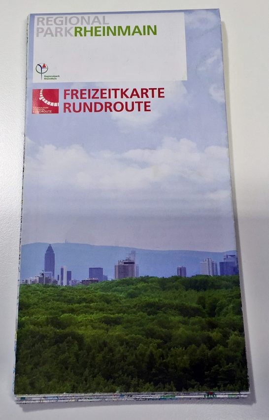 Regionalpark Freizeitkarte Rundroute