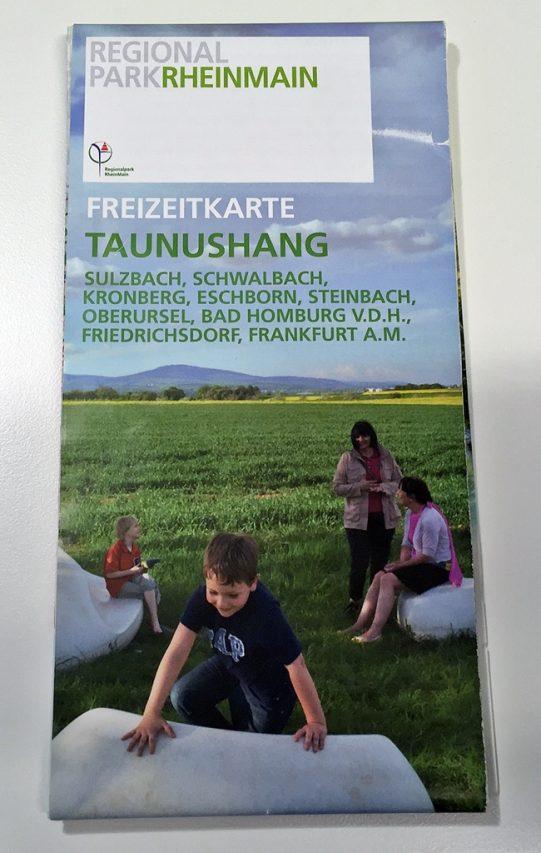Regionalpark Freizeitkarte Taunushang