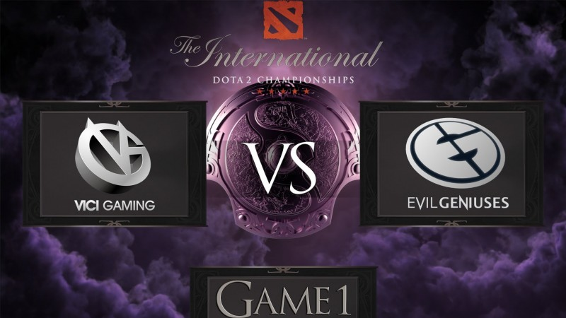 Dota 2 The International 2014 Vici Gaming vs Evil Geniuses