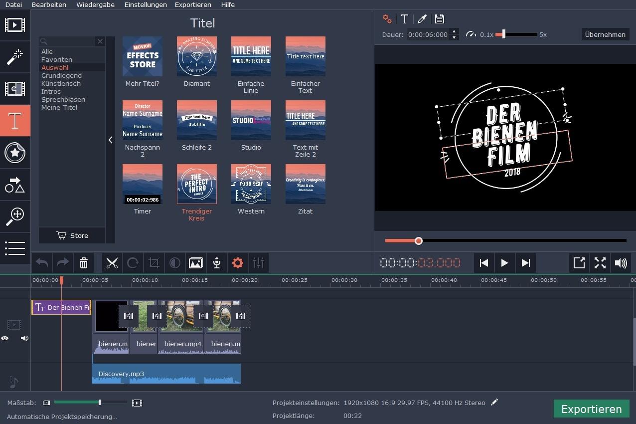 Videos schnell schneiden – Meine Erfahrungen mit MovAvi – DEINEIP.DE