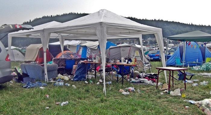 festival chaos