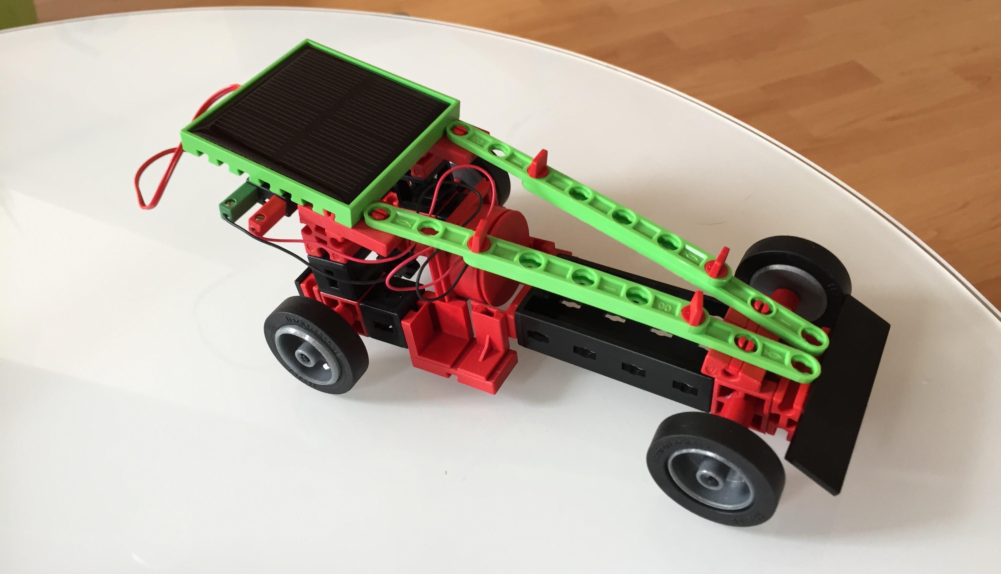 fischertechnik solar power auto