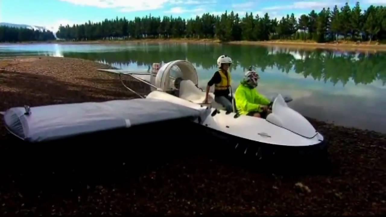 Fliegendes Hovercraft im Eigenbau