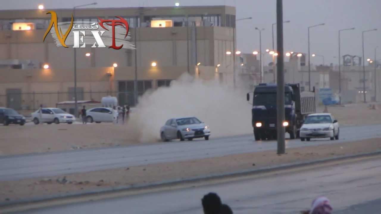 Gefährliches Driften in Saudi Arabien