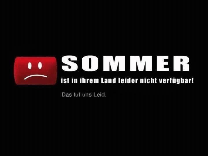 kein sommer 2013