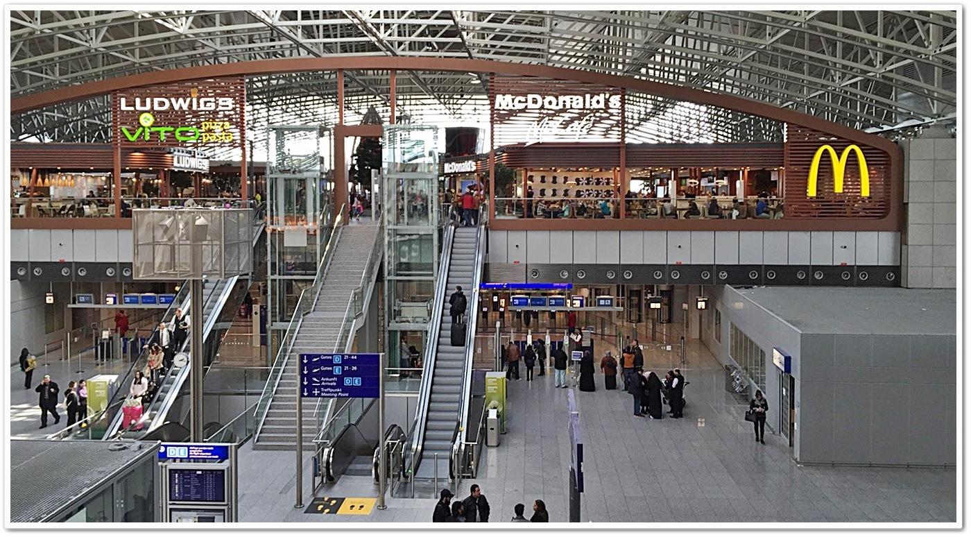 Airport Frankfurt Terminal 2