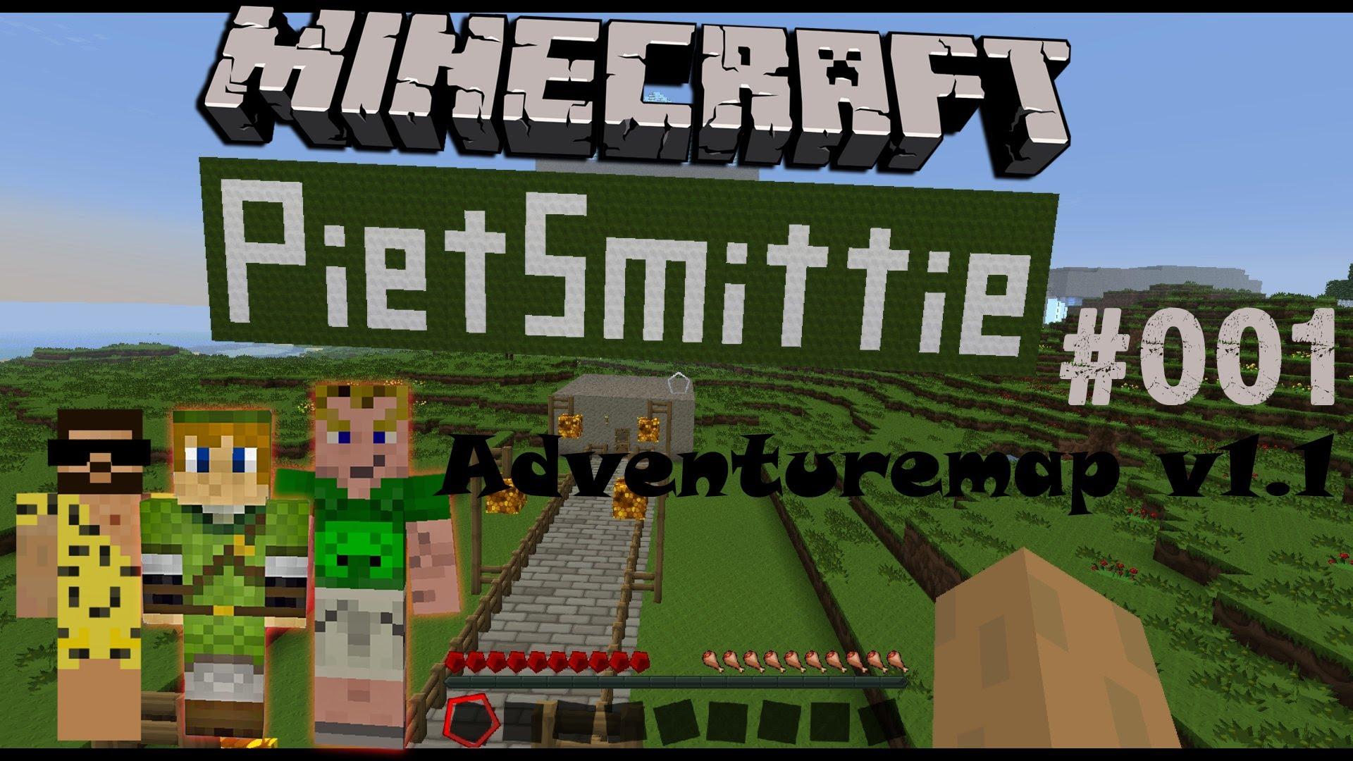 Minecraft Adventure-Maps mit PietSmittie – DEINEIP.DE