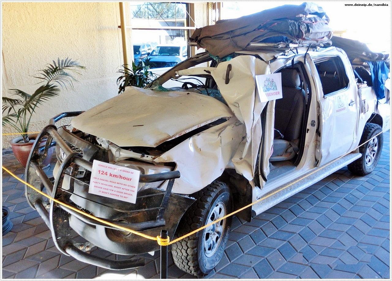 namibia unfallwagen