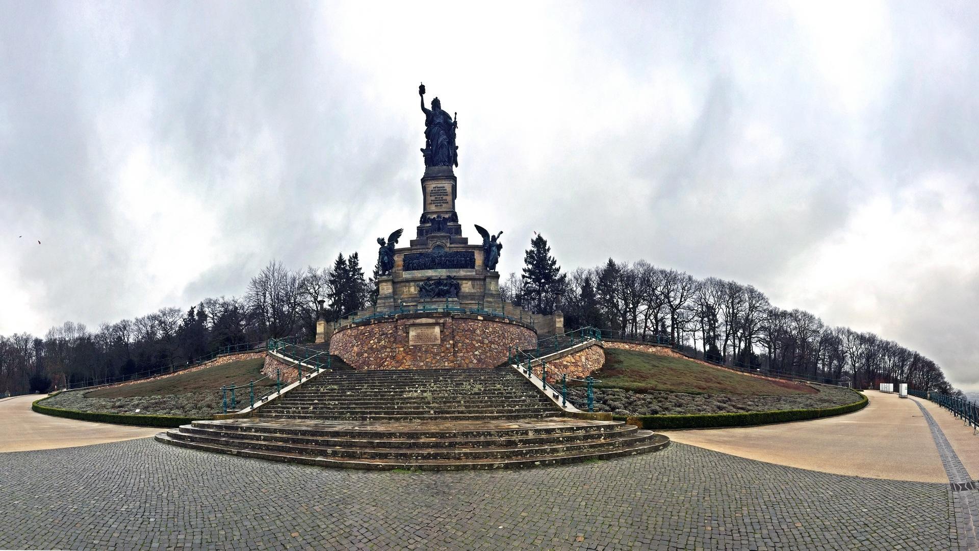 Niederwald Denkmal im Januar 2018 – DEINEIP.DE
