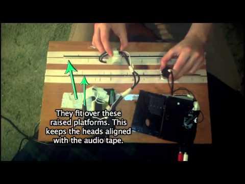 Scratchen mit Kassettenbändern ?!