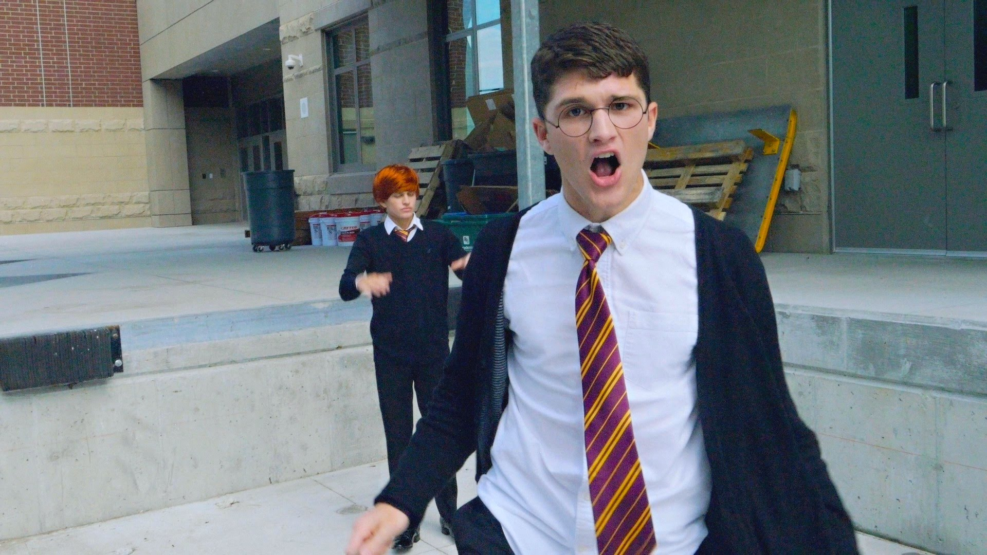 straight outta hogwarts harry po