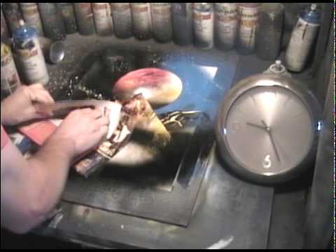 Super Fast Spray Paint Artist