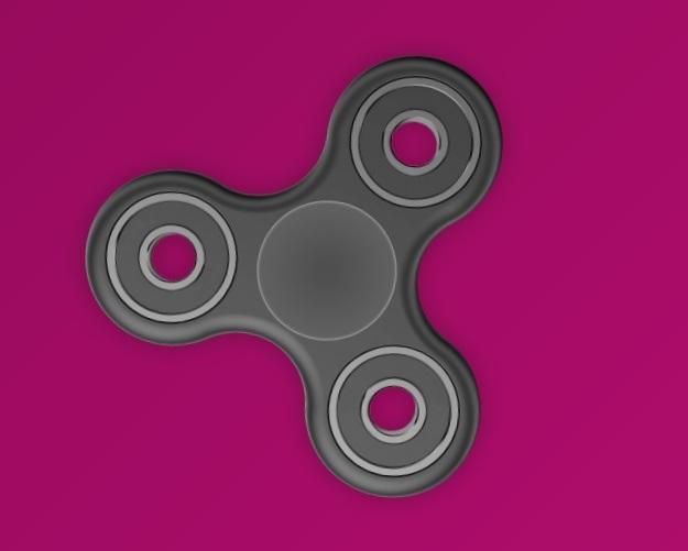 virtueller fidget spinner